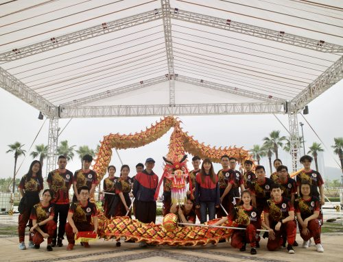 Traditional Eye-dotting Ceremony of UM Dragon Dance Team and Highlights at UM Open Day