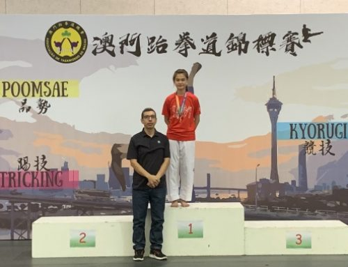 "UM Students won 5 Golds and 5 Silvers at ""Macau Taekwondo Championship 2019"""