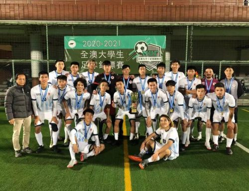 "UM Men's Soccer Team Team won the Champion at ""2020-2021 Macau University Football Championship"""