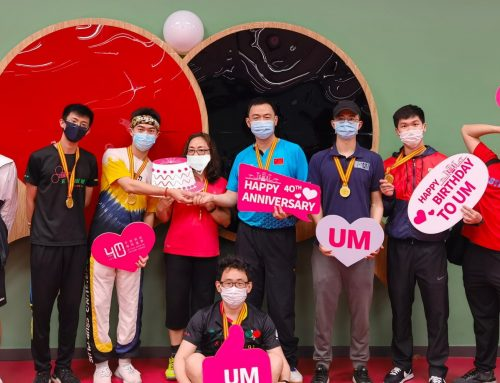 """Celebrating the 40th Anniversary of the University of Macau: UMSU Table Tennis Club – """"UM, MUST and CityU Table Tennis Friendly Competition"""" was held successfully"""